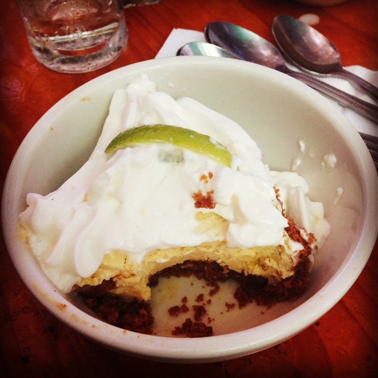 Key Lime Pie in Key West Peppe's