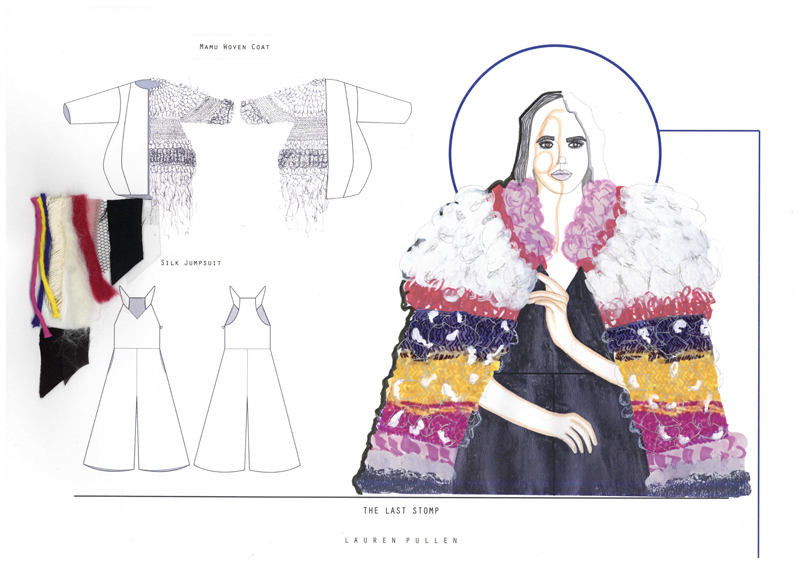 Lauren Pullen Graduate Fashion Week 2015 Portfolio