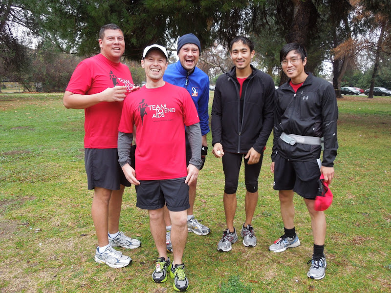 Soggy T2 runners