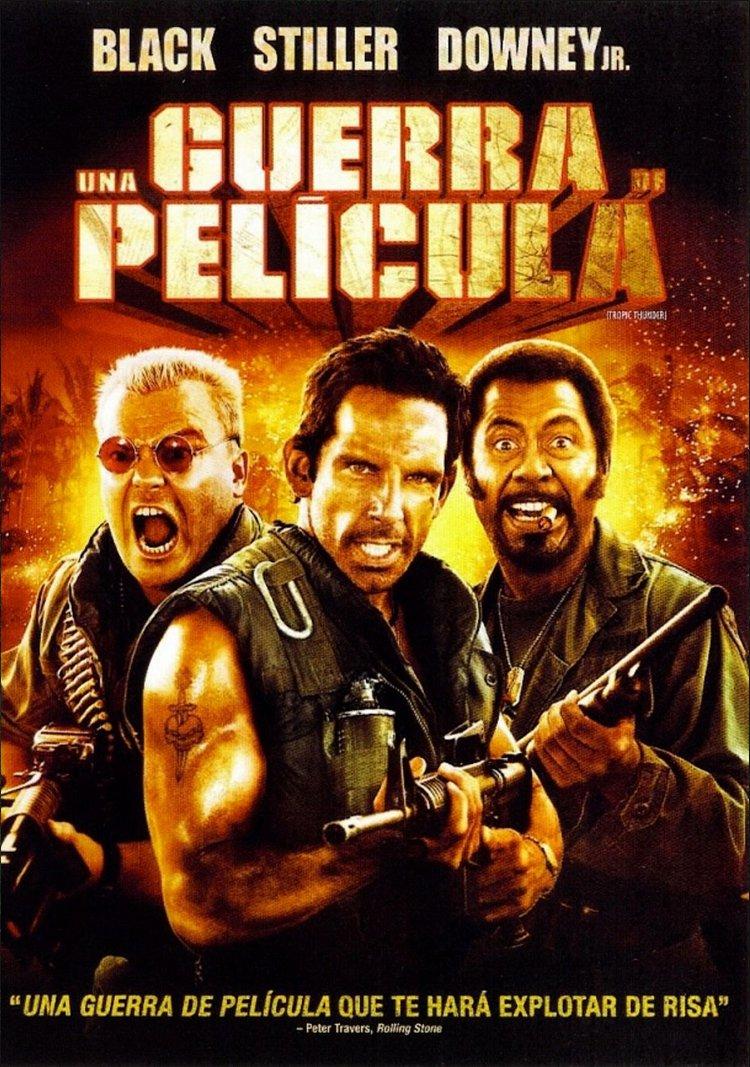 Una Guerra De Pelicula (2008)Tropic Thunder Unrated Direct.