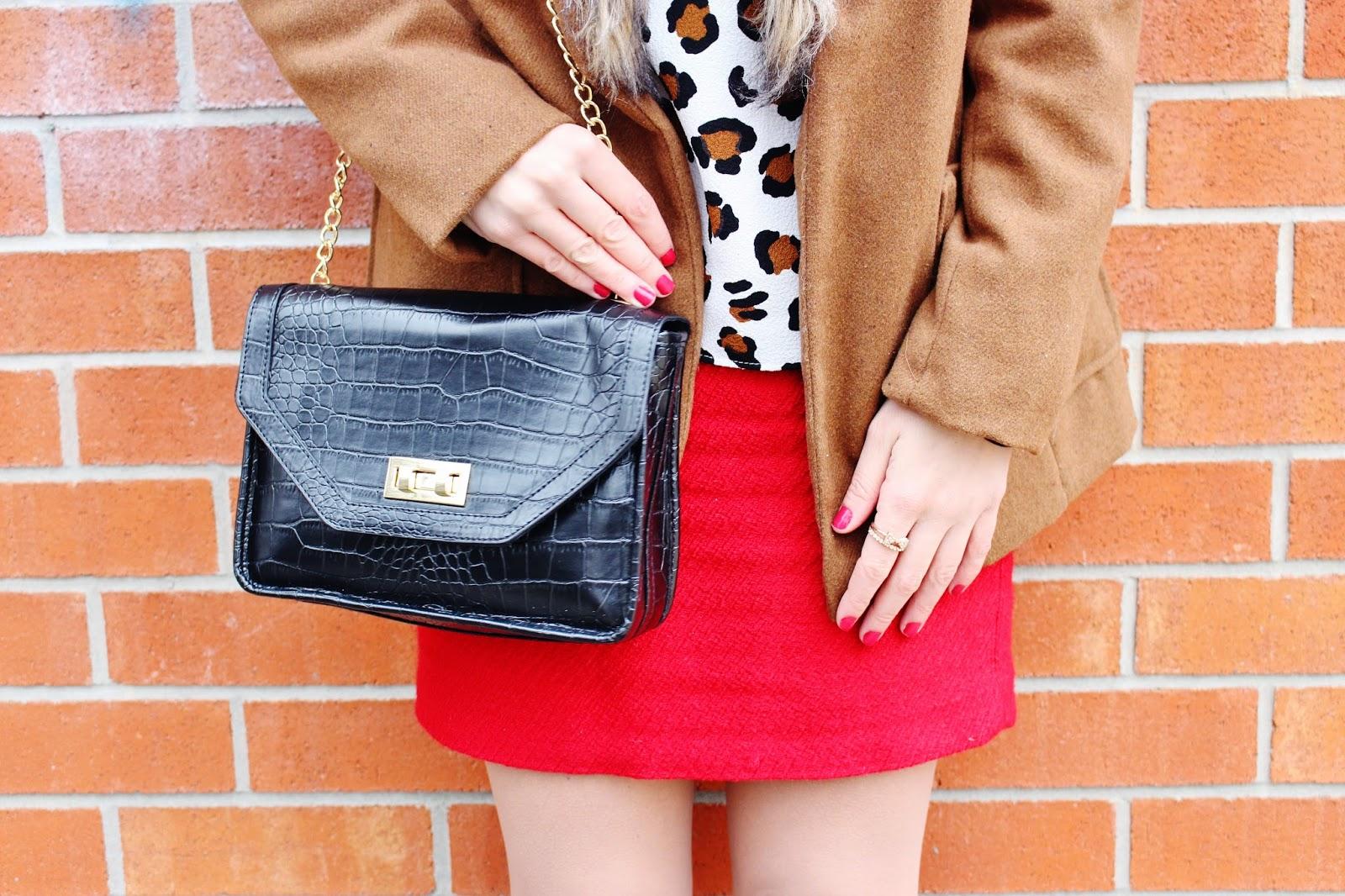 bijuleni - leather crossbody handbag