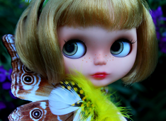 Fantasy OOAK Blythe Custom