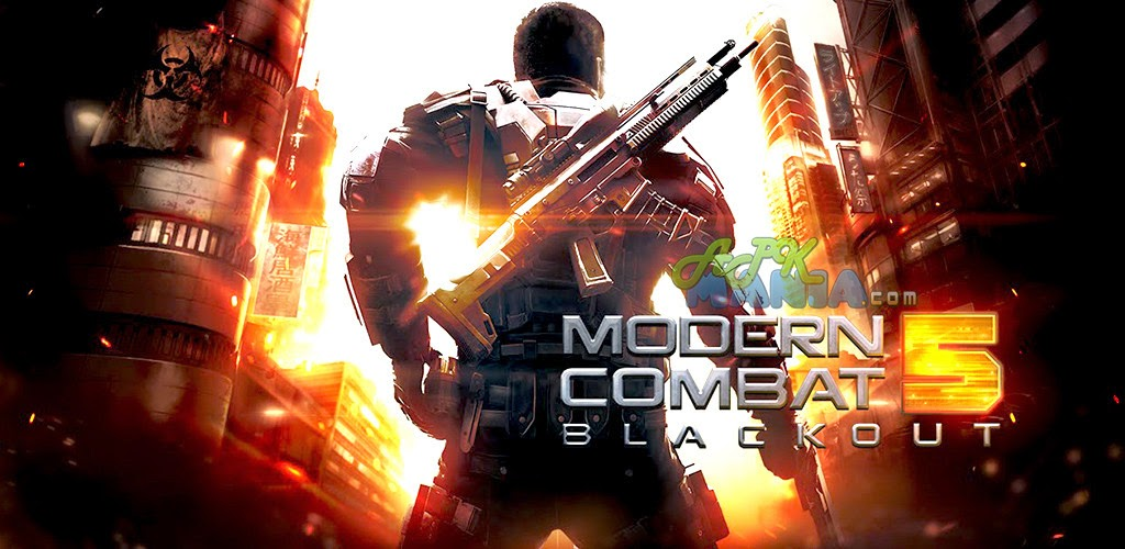 Download Modern Combat 5: Blackout Apk + Data
