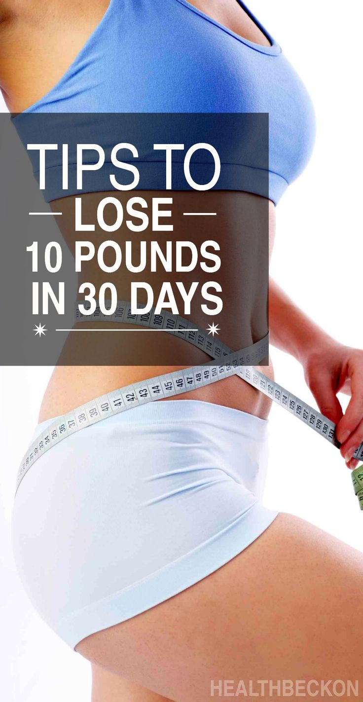 10 Simple Tips To Lose Weight In One Month