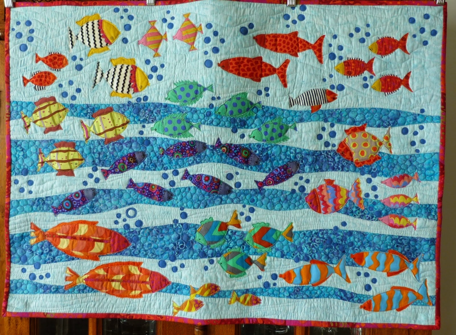 stripe blake fish quilter fabric flutter quilting the tqf blue shop collection quilt quilted collage riley stitches rb