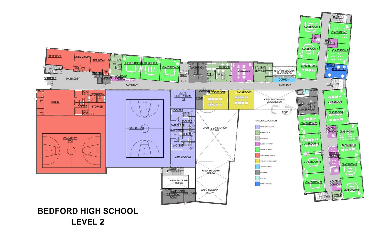 High School Floor Plans