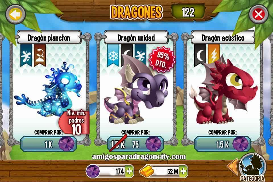 imagen de la oferta del dragon unidad de dragon city