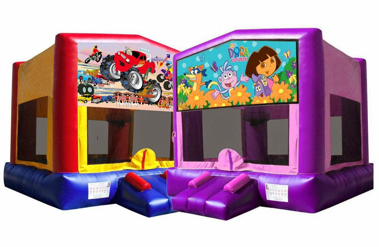 Themed Bouncy Castles and more