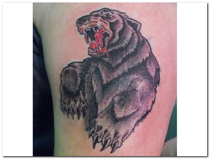 Bear tattoo designs be...