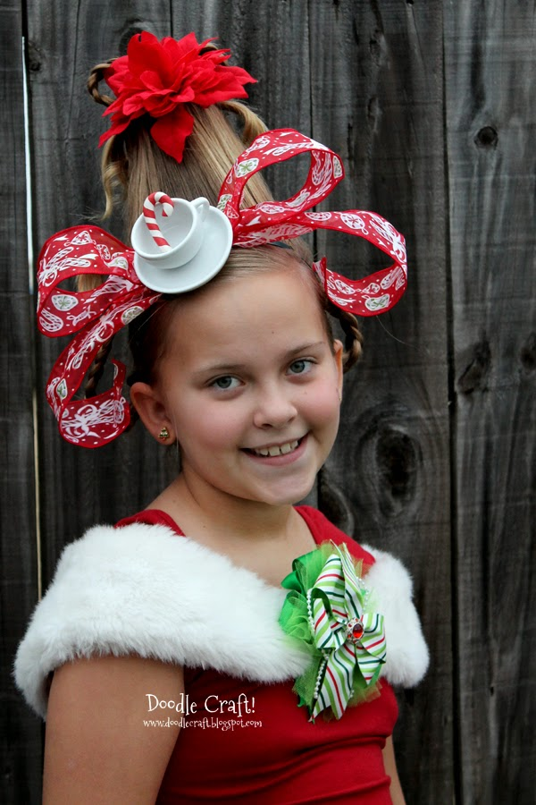 How the grinch stole christmas cindy lou costume cindy lou who hairdo