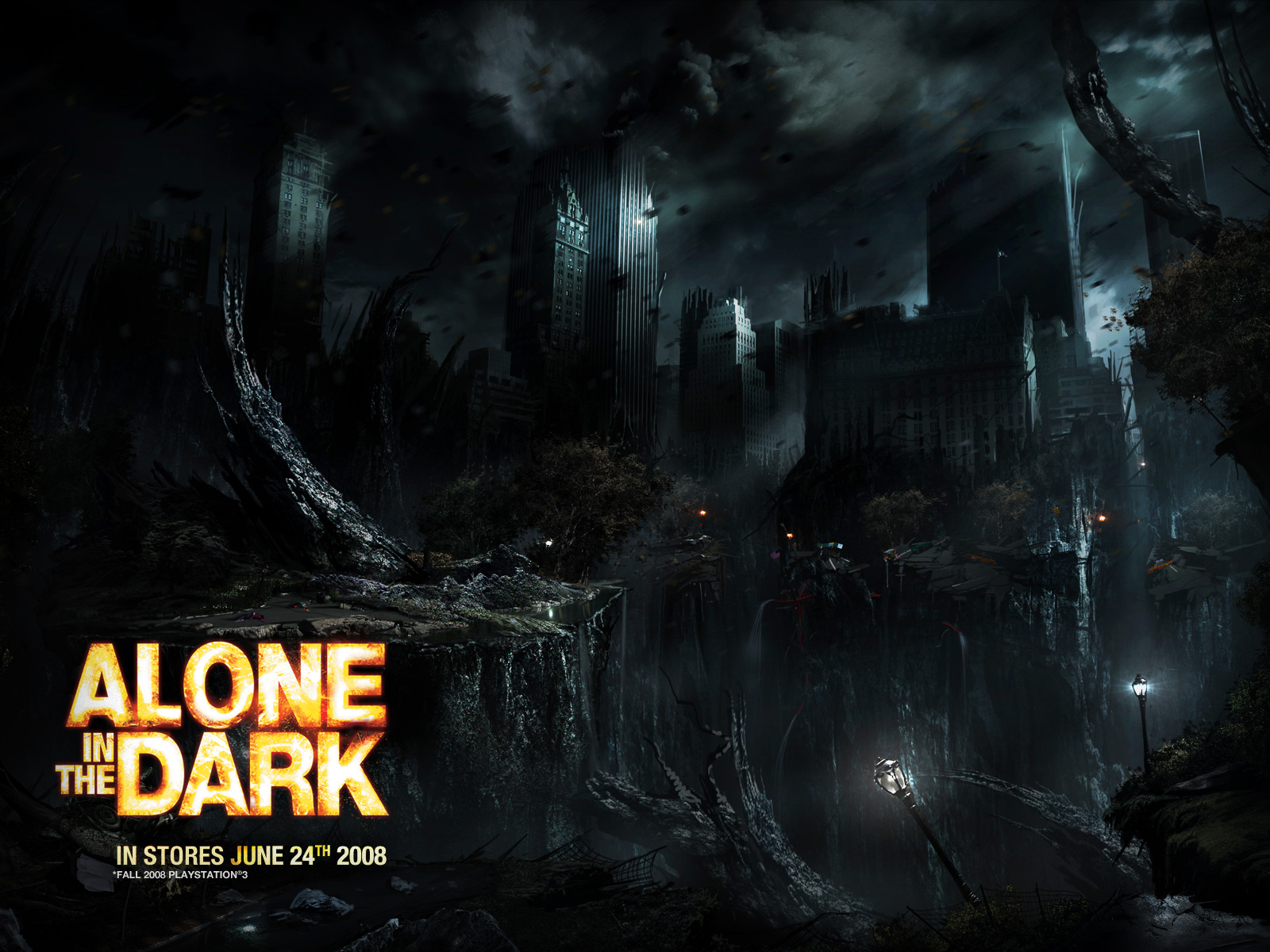 Desktop wallpapers alone in the dark for Alone in the dark