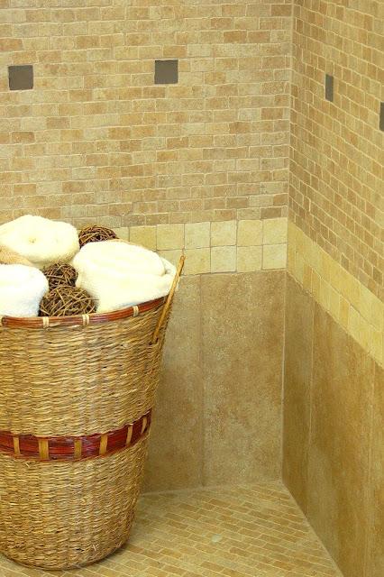 Baños Estilo Toscano:BAÑO PEQUEÑO ESTILO TOSCANO Rayito de SOL – COCINAS Y BAÑOS