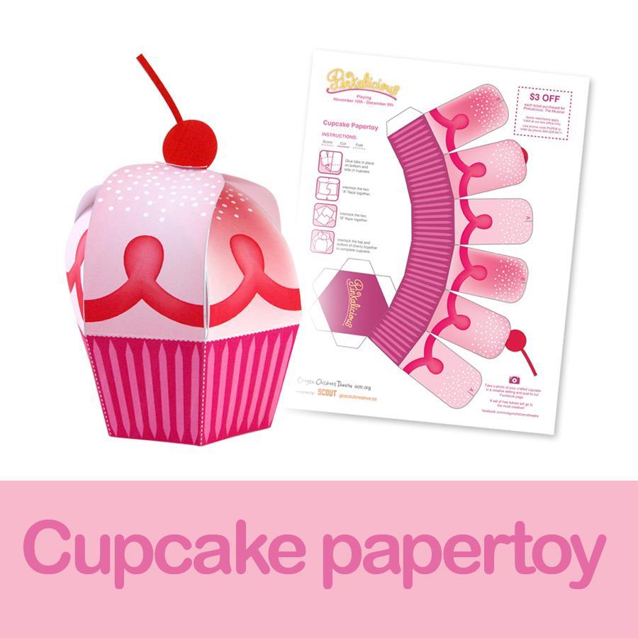 Cupcake papercraft papercraft paradise papercrafts paper cupcake papercraft jeuxipadfo Gallery