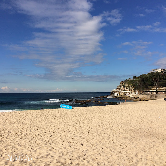 Bronte beach in Winter