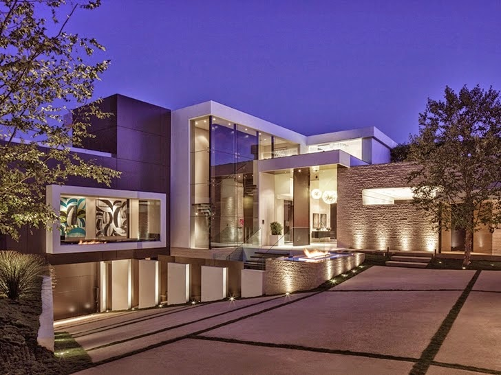 36 million dollars modern home in beverly hills most for Most modern house in the world