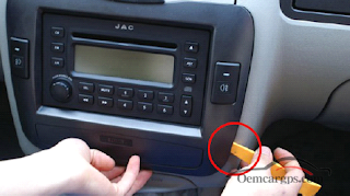 JAC Refine dvd player installation guide