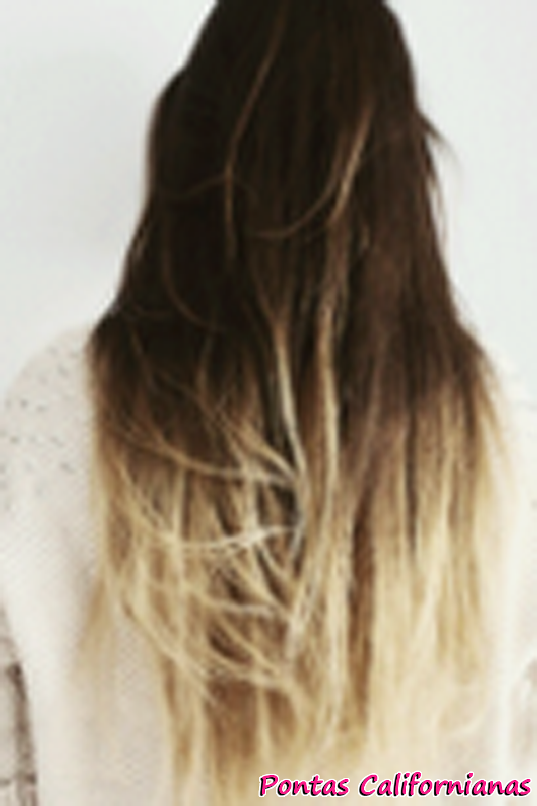 blonde hair with pink tips tumblr