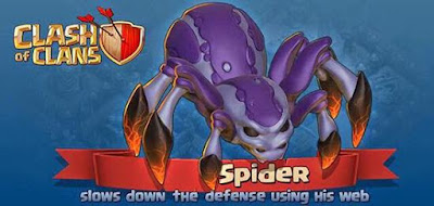 Clash of Clans Update! Troops - Spider