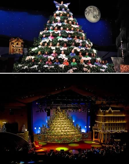 9 El arbol de navidad mas grande en una obra de teatro Charlotte NC
