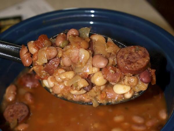 15 Bean Soup Crockpot Style
