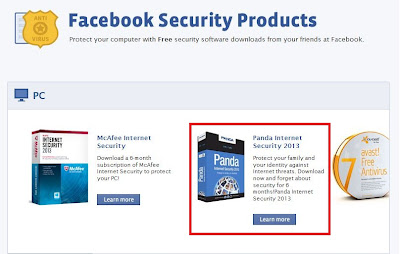 Facebook Offers More Than 10 Free Antivirus