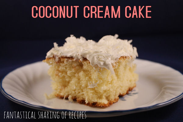 Coconut Cream Cake {Guest Post on Pint Sized Baker}