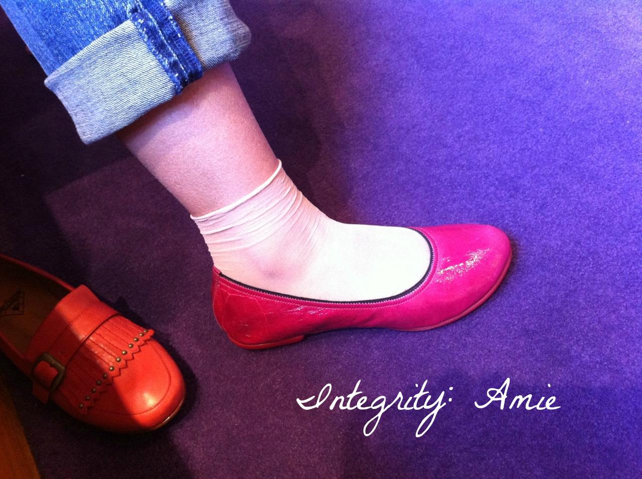 Integrity: Amie