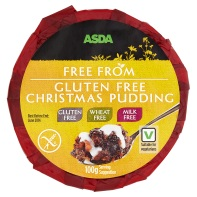 Free from Christmas pudding by Asda