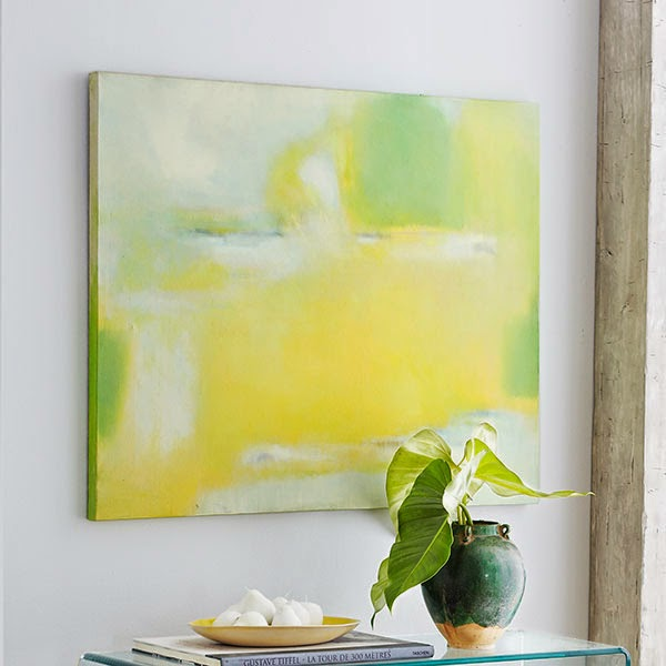 Home made modern craft of the week diy paintings for Diy abstract wall art