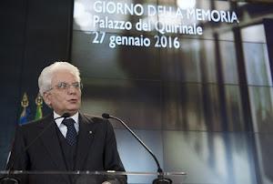 """Intervento del Presidente Sergio Mattarella in occasione della celebrazione del """"Giorno della Memor"""
