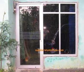 Pintu Kaca ALuminium Rumah