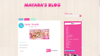 personalizaçao template layout do blog mayaras blog