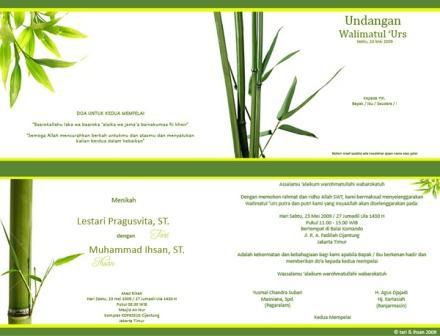 12 desain undangan pernikahan bukan menawarkan jasa pembuatan undangan ...