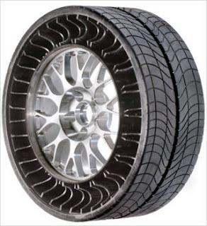 Airless Tire - Penemuan Baru Ban Tanpa Angin