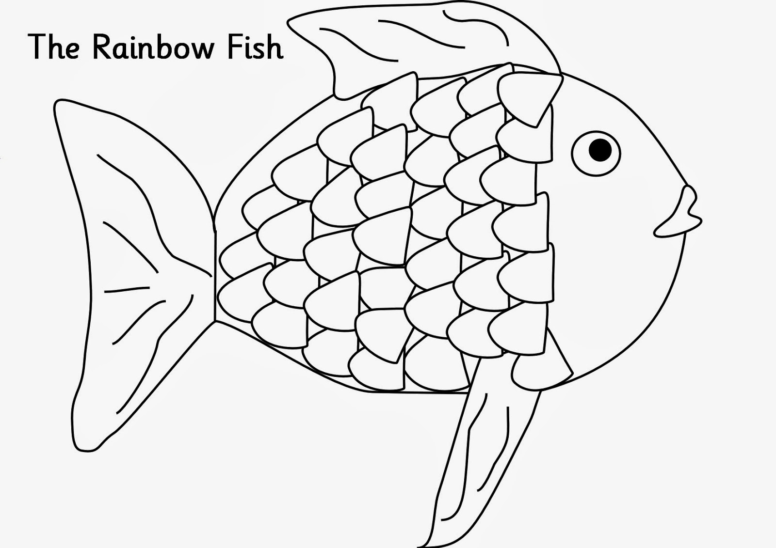 Rainbow Trout Coloring Pages
