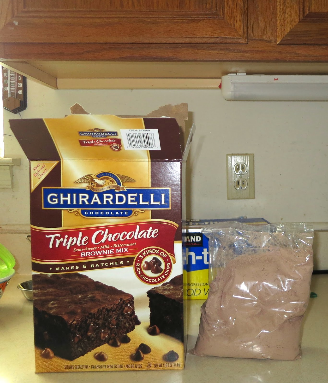 Mommyscape Review Ghirardelli Triple Chocolate Brownie Mix