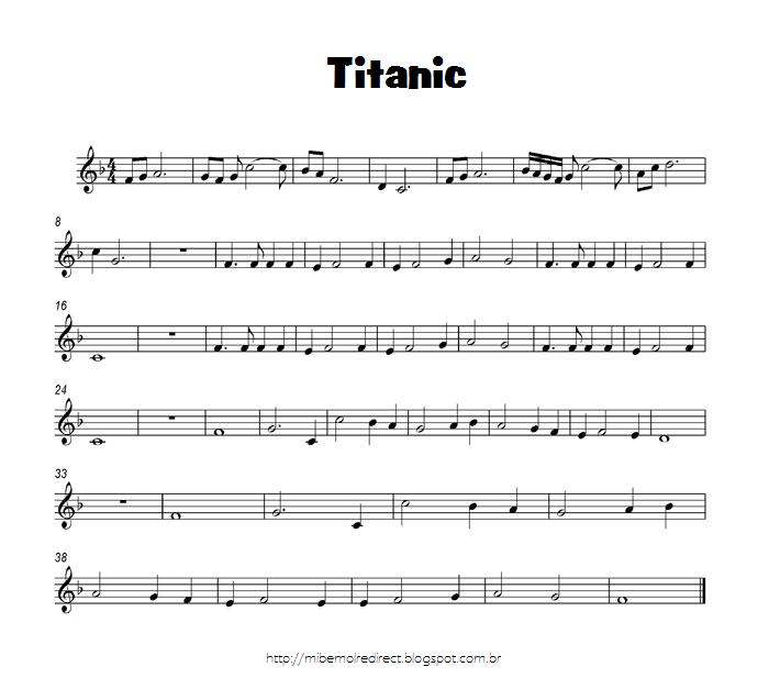 Mi Bemol Redirect: Partitura-Titanic