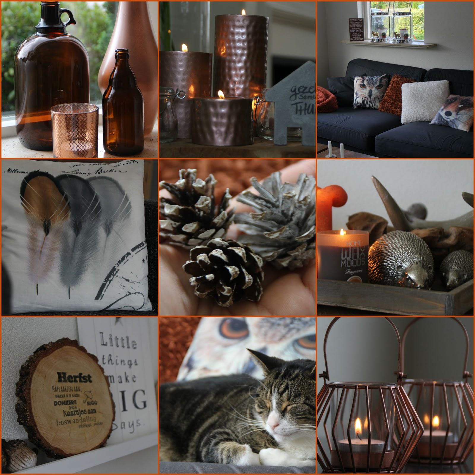 One teaspoon of passion: Herfst in huis + 3x DIY