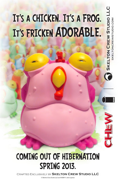 Image Comics First Look: Chew Vinyl Figure Chog by Skeleton Crew Studio LLC