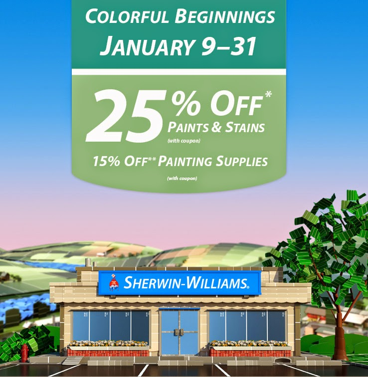 Sherwin williams coupons discounts