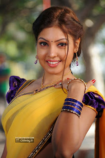 Komal-Jha-Stills-in-Saree