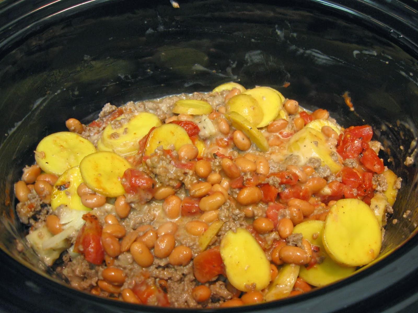IMG_0298 taste and see god's goodness crockpot cheesy cowboy casserole