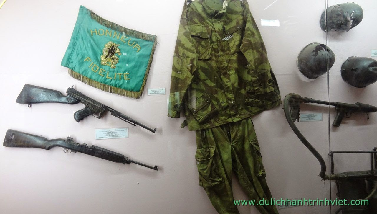 Tham quan Bảo tàng chiến thắng Điện Biên Phủ
