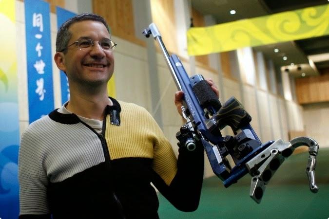 Aos 53 anos, Rajmond Debevec mira sua 9ª participação olímpica nos Jogos Rio 2016 - Foto: Getty Images/Harry How