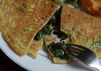Omelete de Grão-de-Bico (vegana)