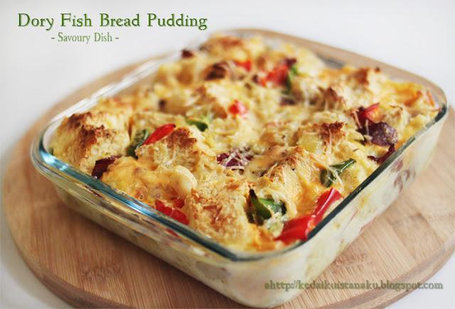 Kedai Rachmah: Savoury Bread Pudding