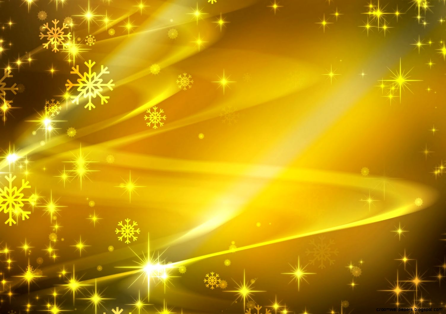 Yellow Christmas Background Desktop