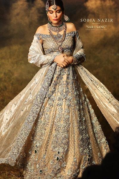 Sobia Nazir Sar I Sang Bridal Wear 2015 2016