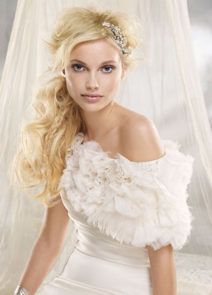 Peinados Romanticos Novia - Recogidos de novia románticos Copia los mejores