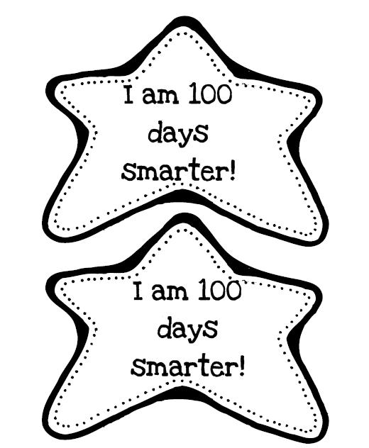 Refreshing image with regard to 100 days of school printable